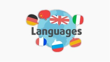 ilustrace světové jazyky