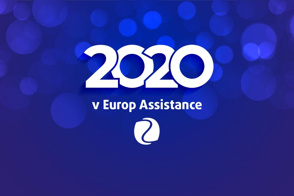 Rok 2020 v číslech Europ Assistance